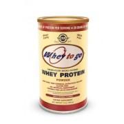 Solgar Whey To Go® Protein Powder Natural Vanilla Flavor